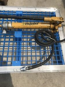 Enerpac P39 Hydraulic Hand Pump 10 000 Psi With Hose