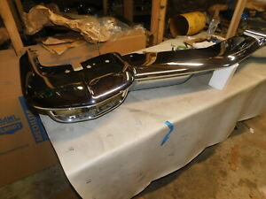 1960 Cadillac Front Bumper Re chromed