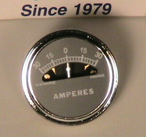 1928 1931 Model A Ford Ammeter 30 15 0 15 30 Amps