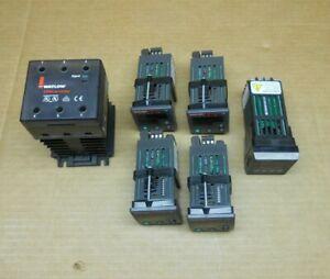 Lot Of 6 New Watlow Din a mite 93aa 1fa0 00rg 96a0 caaa 00rg Temperature Control