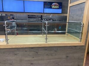 Glass Countertop Display Case 79 Wide 31 Deep 22 5 Inch High