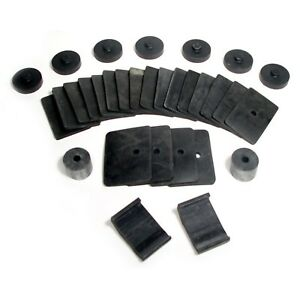 Ford 1937 1938 1939 All And 1940 Closed Car Body To Frame Mounting Pads Rubber