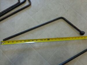Gm Ford Plymouth Mopar Lug Wrench Tire Jack Iron 3 4 Lug Wrench Free Shipping
