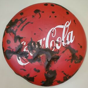 Vintage Coca Cola Coke Button 48