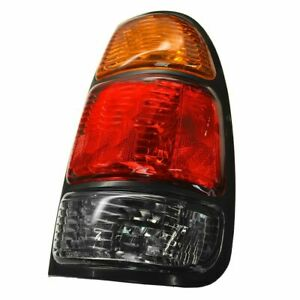 New 2000 2004 Fits Toyota Tundra Tail Light Assembly With Standard Bed Right