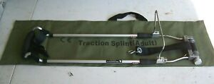 Fernotrac Traction Splint Adult Size Model 444 Emt Fire Rescue First Aid