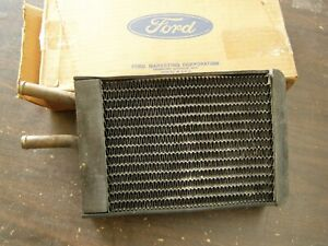 Nos Oem Ford 1967 1973 Mustang Heater Core Ac 1968 1969 1970 1971 1972 Mach 1 Gt