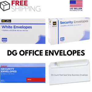 Office Envelopes White Security Peal Seal Strip Mailer Mailing Shipping Home