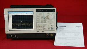 Tektronix Rsa6114a Real Time Spectrum Analyzer To 14 Ghz Loaded With Options