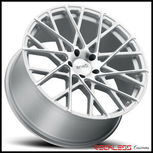 Enso 22 M1 Silver Concave Wheels Rims Fits Bmw Acura Mdx Rdx