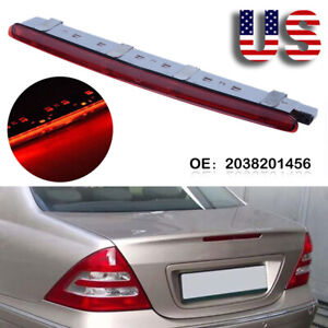 Led Third Stop Brake Light Lamp Rear For Mercedes Benz 2000 2007 C Class W203 Us
