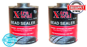 2 Cans Xtra Seal 14 101 32 Oz Tire Bead Sealer Flammable