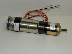 Faulhaber 3557k024cr Motor With Gearcase And Inertia Dynamic Brake