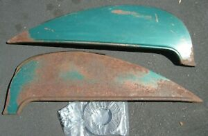 1956 Chevrolet Fender Skirts Pair With New Seals And Clips