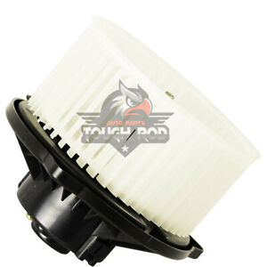 Heater Blower Motor For 2004 2006 Toyota Tundra 01 07 Sequoia W Wheel Front 1pc