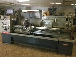 21 X 80 American Turnmaster Engine Lathe With Dro Tooling Inch metric