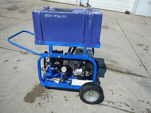 2018 Rice Hydro Dph 3b 11 Gpm Hydrostatic Portable Test Pump Honda Gas