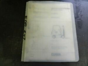 Clark Esm 247 Forklift Parts Manual 2804100