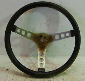 Vintage Hot Rod Rat Rod 13 Steering With Black Handle Street Rod