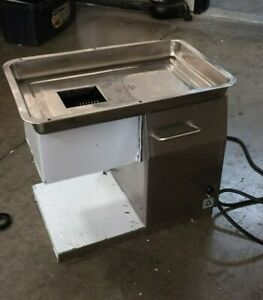 Used Commercial Meat Slicer Cutting Machine Shredded Equipment No Blade