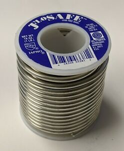 1lb Flosafe Lead Free Solder Canfield 97 tin 3 copper 125 Diameter 85311 New