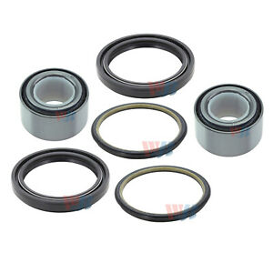 Set Front Wheel Bearing seal Assembly For Suzuki Sidekick Geo Tracker Chevrolet
