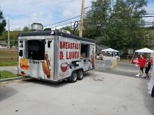 Eye catching Turnkey 2007 8 5 X 16 Kitchen Food Trailer For Sale In New York