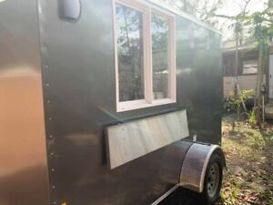 2020 Forest River 6 X 10 Continental Cargo Street Food Concession Trailer For