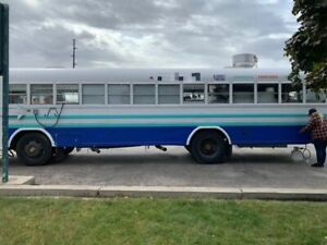 Used Bluebird 35 Kitchen Food Truck Bustaurant With Pro Fire Suppression System