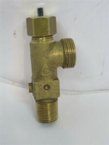 Cavagna Rvb 520h lf 3 8 Ngt B Style Valve For Acetylene Tank