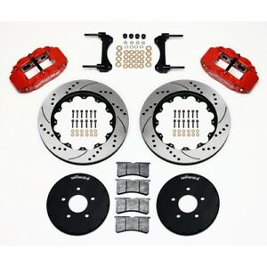 Wilwood 140 9117 dr Front Brake Kit hat For 1994 2004 Ford Mustang New