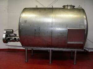 2000 Gallon Stainless Steel Tank With Agitation