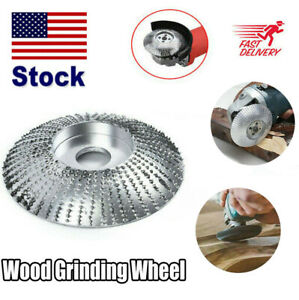 3 3 Carbide Wood Sanding Carving Shaping Disc For Angle Grinder Grinding Wheel