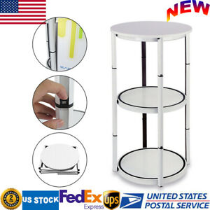 41 7 Portable Folding Twister Tower Aluminum Spiral Display Exhibition Case Usa