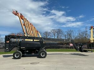2013 Jlg 800a Aerial Manlift Boom Lift Boomlift Dual Fuel Man Basket Genie Cat