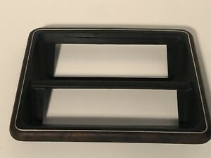 Radio And Hvac Control Trim Bezel Ford Oem 150 250 350 Bronco Dash Woodgrain