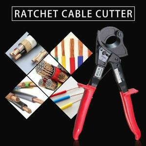 Heavy Duty Ratchet Cable Cutter Cut 240mm Max Aluminum Copper Wire Cutter