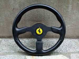Ferrari F50 Steering Wheel With Horn Button 03 96 Oem Original