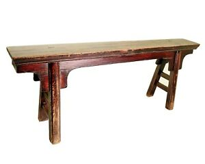 Antique Chinese Bench 3200 Ming Style Circa 1800 1849