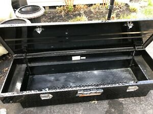 Deezee Dz 8170b Red Label Crossover Tool Box Black For Gm ford Truck dodge Ram