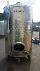845 Gallon Stainless Steel Jacketed Tank Wine Distillery Brewery