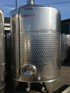 2312 Gallon Stainless Steel Jacketed Tank Wine Distillery Brewery