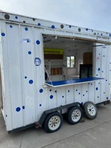 2010 6 X 14 Street Food Concession Trailer Used Mobile Food Unit For Sale