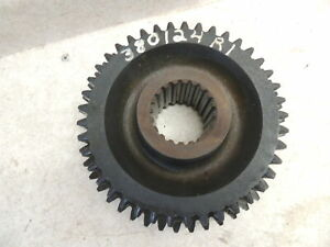 Farmall International 706 806 1256 Speed Trans 1st 2nd Sliding Gear 380124r1