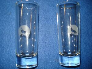2 Stillhouse Moonshine Clear Corn Whiskey Shot Glasses Limited Ed Replacement