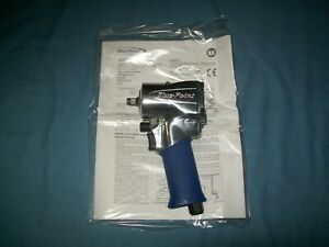 New Blue point 3 8 Drive At2538 Compact Air Impact Wrench Open Box Unused