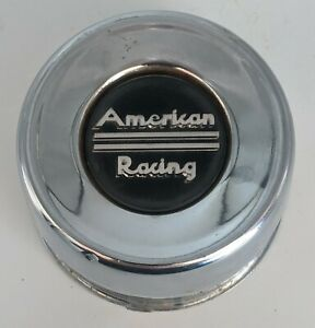 American Racing Custom Wheel Center Cap Metal Used 899035