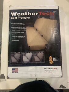 Weathertech Small Highback Bench Seat Protector In Charcoal For Trucks Cars Suvs