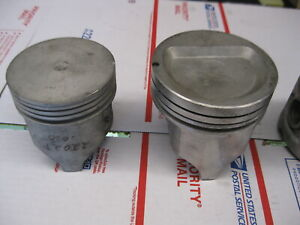 One New Piston Ford 170 256 292 352 390 400 Read Sizes See All Pictures