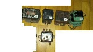 Vintage Original Delco Remy Voltage Regulator Your Choice Of One From 7
